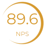 89.6 de NPS